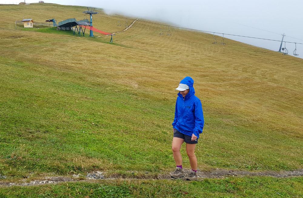 Helly Hansen Maridalen Shorts review in Val Gardena Womens hiking shorts