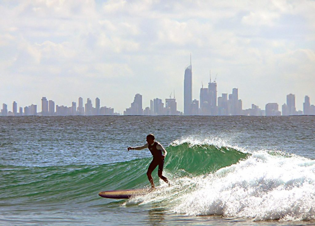Surfing in coolangatta Australia. best Christmas adventure holidays pxhere royalty free image