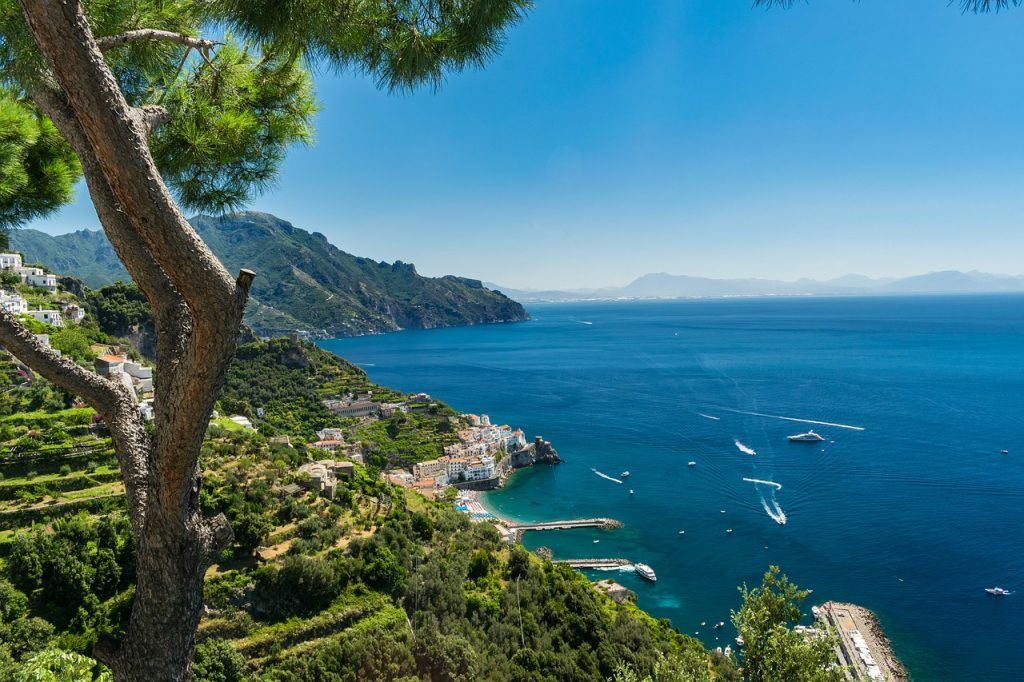 Top 11 Italian activity holidays Saliing Amalfi coast one of the best adventures in Italy Pixabay royalty free image