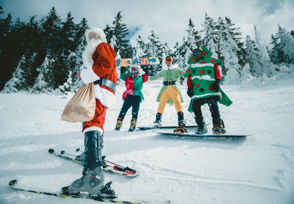skiing is one of the best Christmas adventure holidays pxhere royalty free image