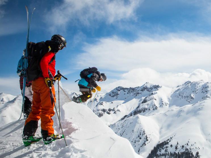 Ski jacket tips PXhere royalty free image of skiing in Silverton colorado