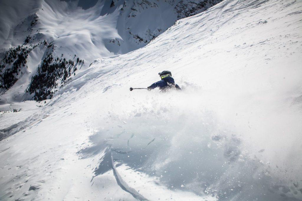 Freeride ski holidays Should off-piste be off-limits PXhere royalty free image of skiing in Silverton colorado