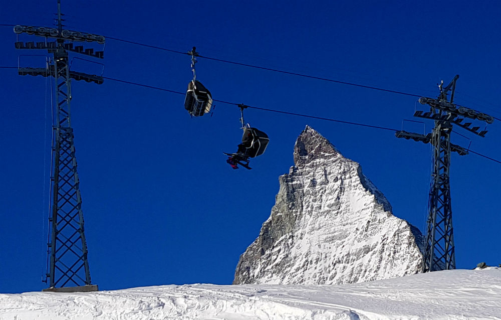 Review of Cervinia snowboarding holiday - the Matterhorn