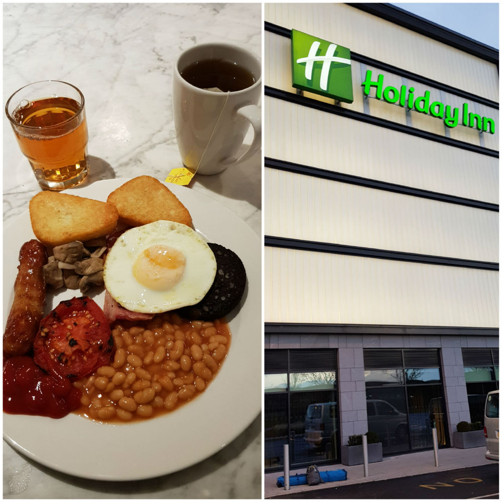 Great breakfast during review of Holiday Inn Heathrow Bath Road