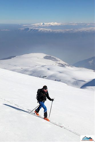 ski touring in Macedonia Image provided by Snowbusters