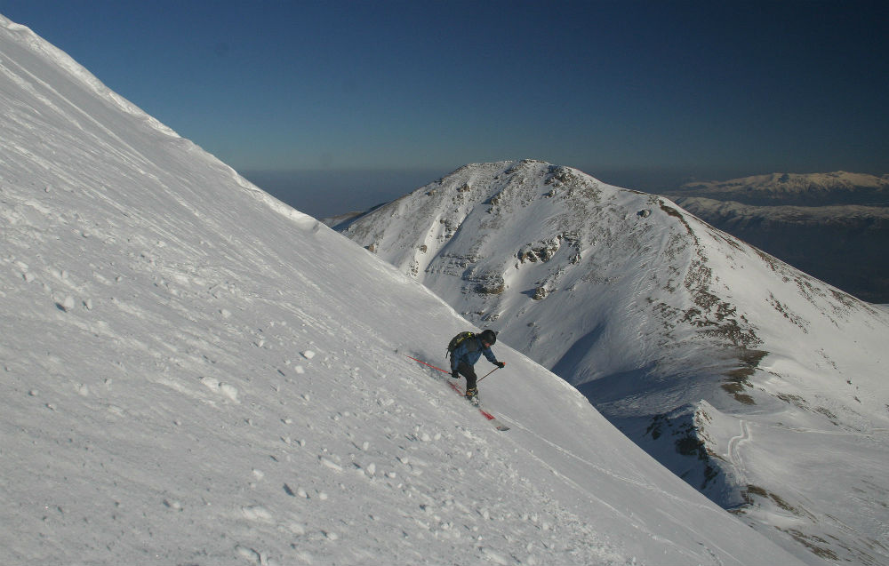 Road trip and ski-touring in FYROM in popovasapka Macedonia image from Snowbusters