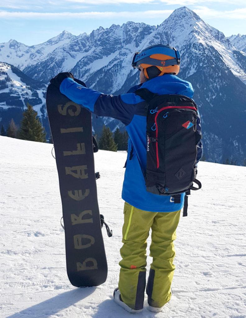 Dakine Team Poacher 26L review Avalanche airbag compatible backpack Austria