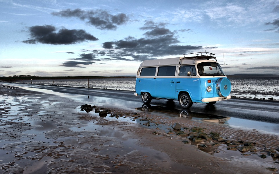 Of the different types of camping a campervan is one of the best Royalty free image from pixabay