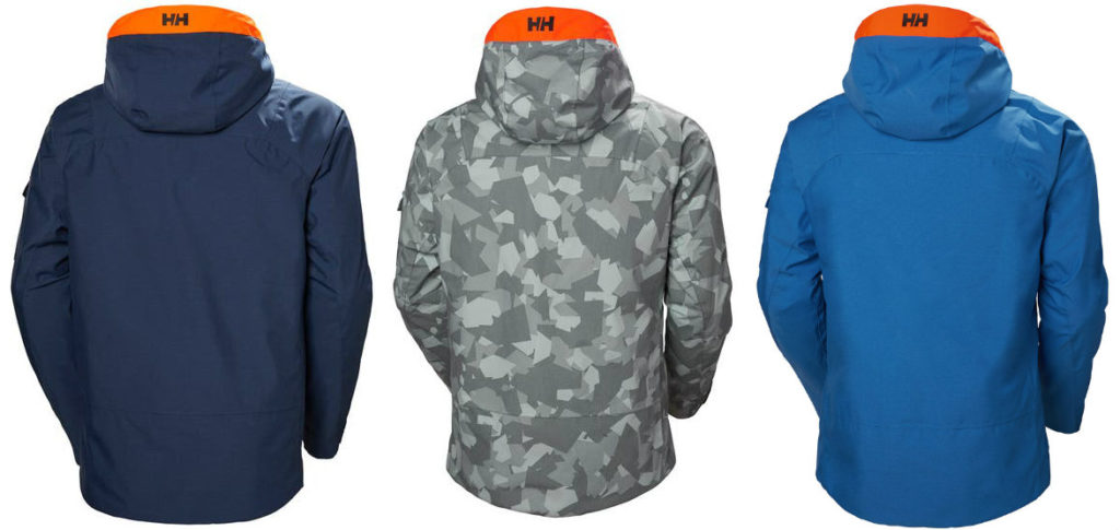 Helly Hansen Garibaldi Jacket review Lightweight insulated ski jacket back