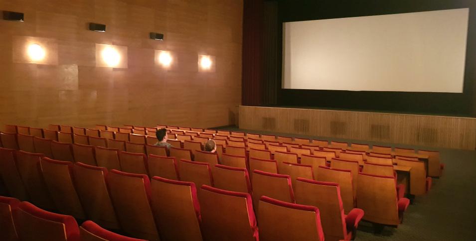 Packed cinema in Mayrhofen