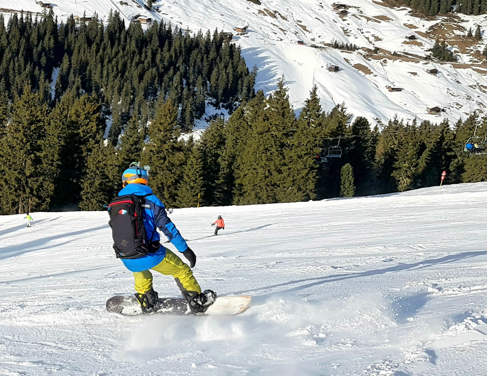 Review of Crystal Ski holiday in Mayrhofen Snowboarding in Zillertal Valley