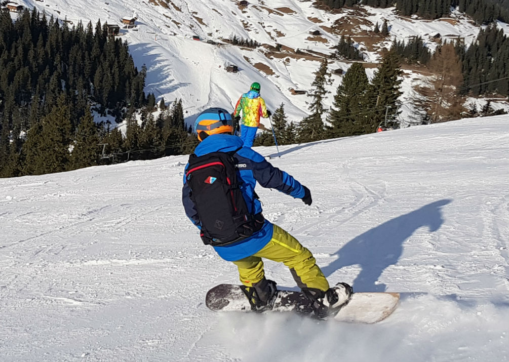 Review of Crystal Ski holiday in Mayrhofen Snowboarding in Zillertal