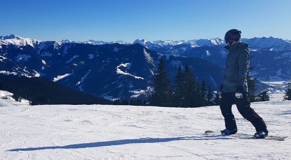 Review of Flexiski snowboarding holiday in Zell am See