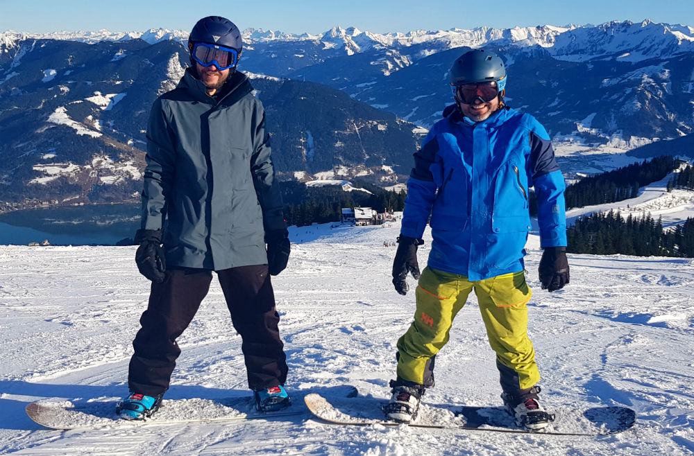 Review of snowboarding holiday in Zell am See Austria