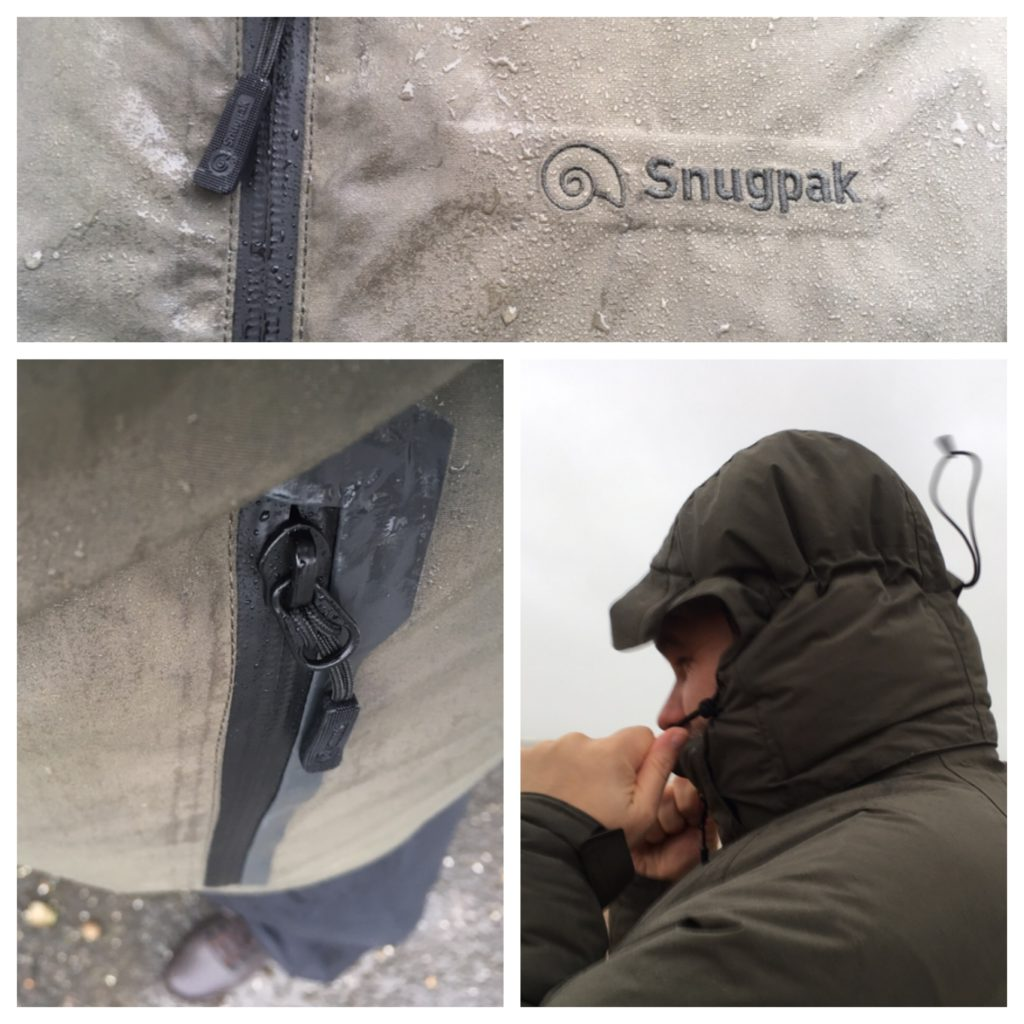 Snugpak Torrent Extreme is a waterproof windproof insulated jacket