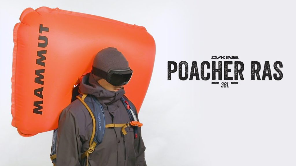 avalanche airbag compatible backpack - Dakine Poacher with Mammut airbag