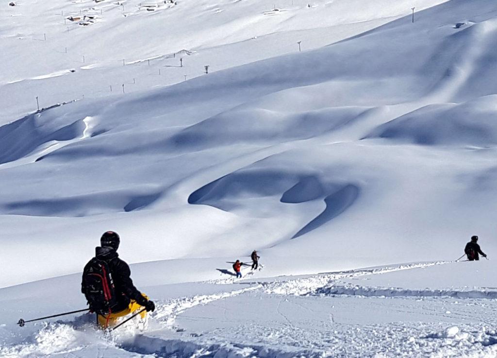 Amazing heli skiing in Turkey