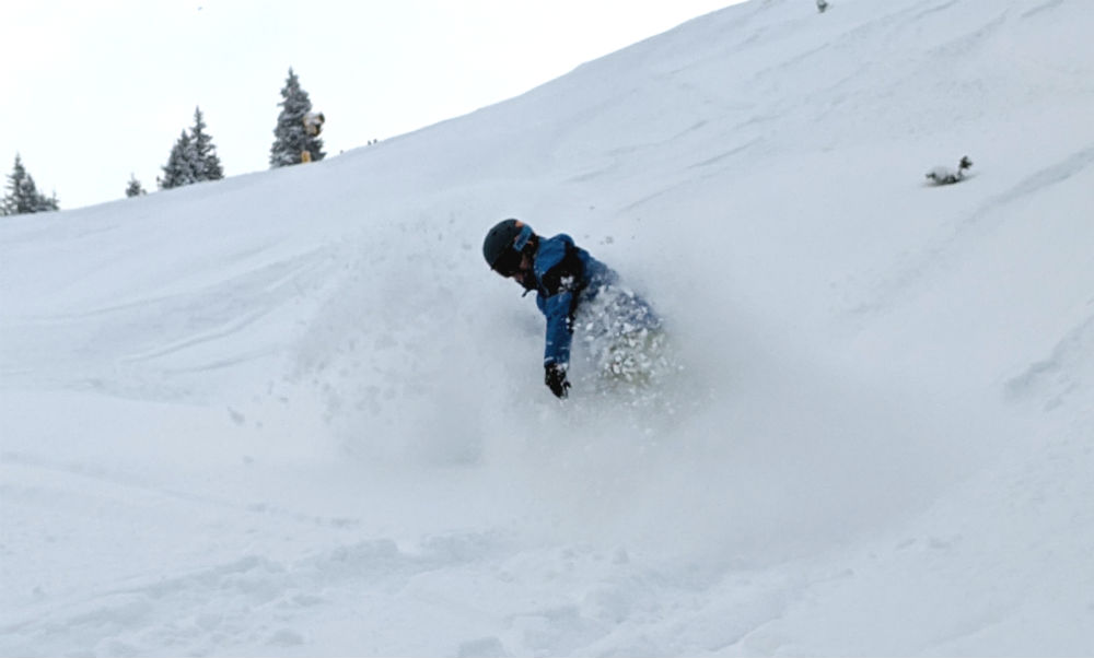 Day 2 Review of Skicircus snowboarding holiday in Saalbach Austria