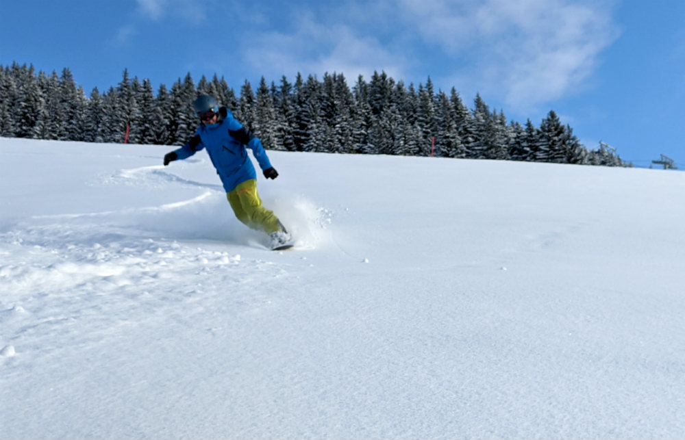 Day 3 of review of Skicircus snowboarding holiday in Saalbach Austria