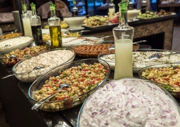 Hasimoglu Hotel Ayder Turkey salad selection