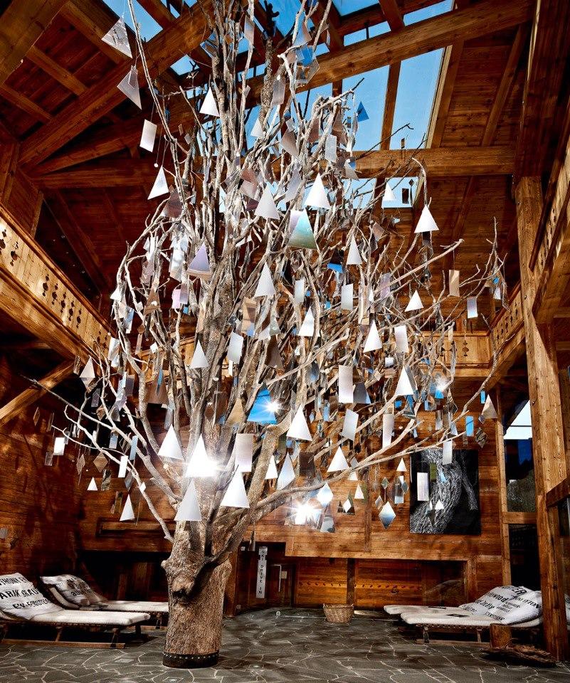 Hotel Hinterhag mirror tree