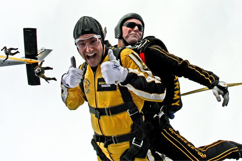 How much does skydiving cost Guide to tandem skydive prices worldwide Pixabay royalty free image