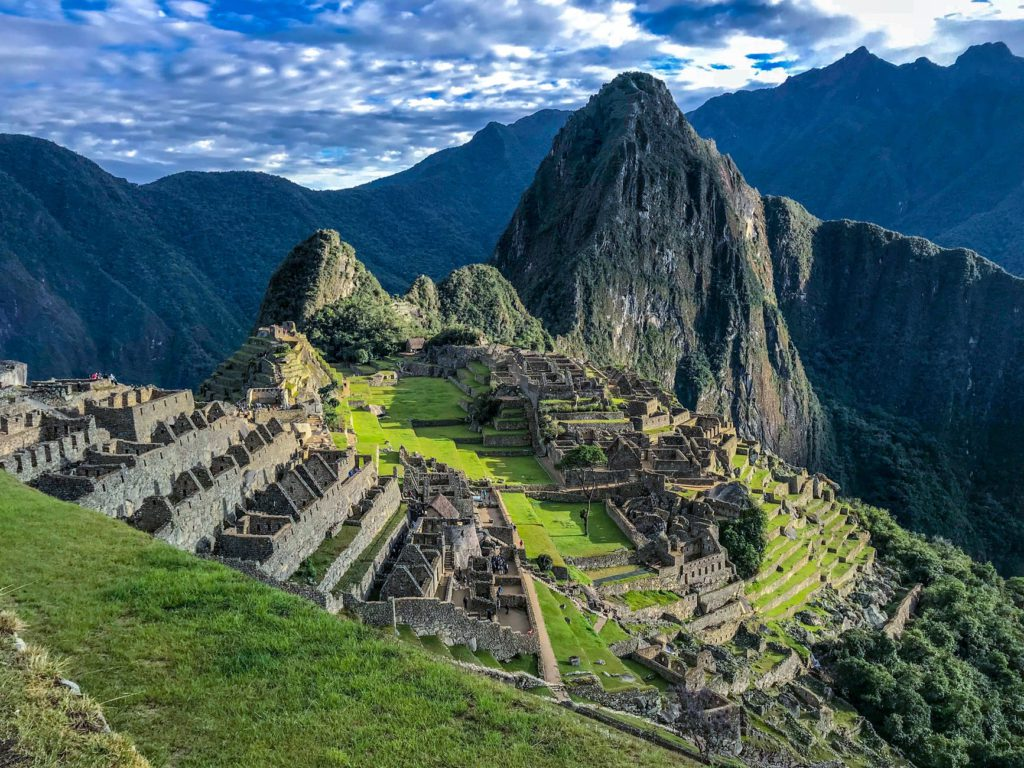 Inca Trail to Machu Picchu one of the best historical hiking holidays Pexels royalty free image