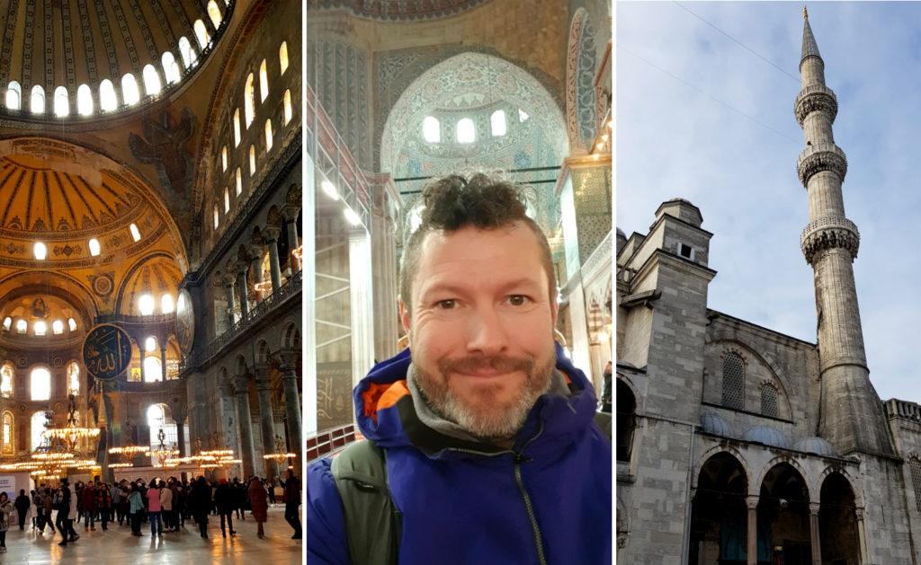 Istanbul Hagia Sophia and Blue Mosque