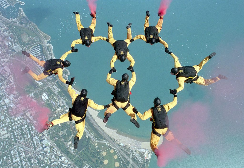 Jump ticket skydive costs Pixabay royalty free image