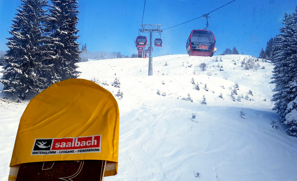 Review of Skicircus snowboarding holiday in Saalbach Austria