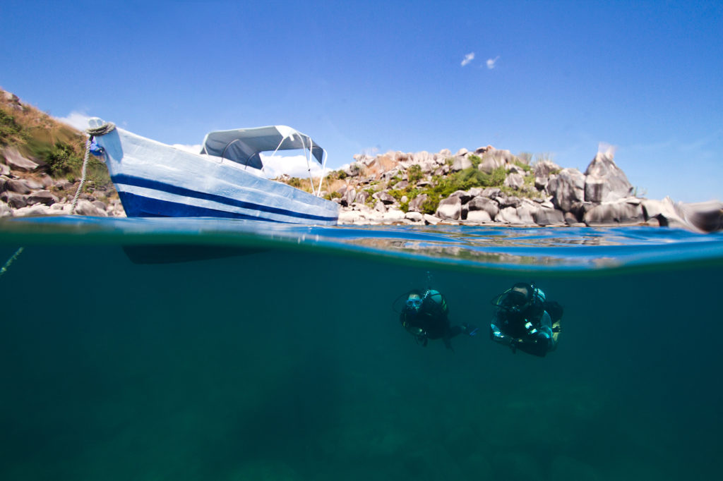 Scuba diving lake Malawi one of the top adventures in Africa Image-by-The-Responsible-Safari-Co.-30