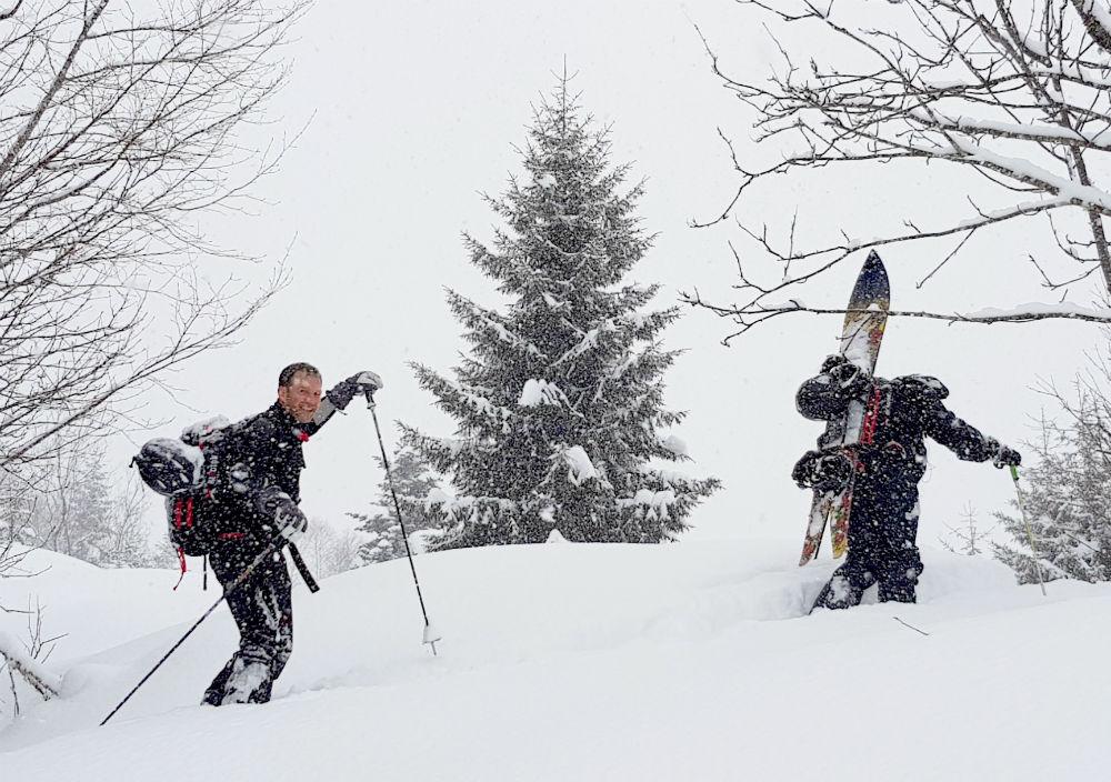 Snowshoeing and ski touring in Ayder Turkey