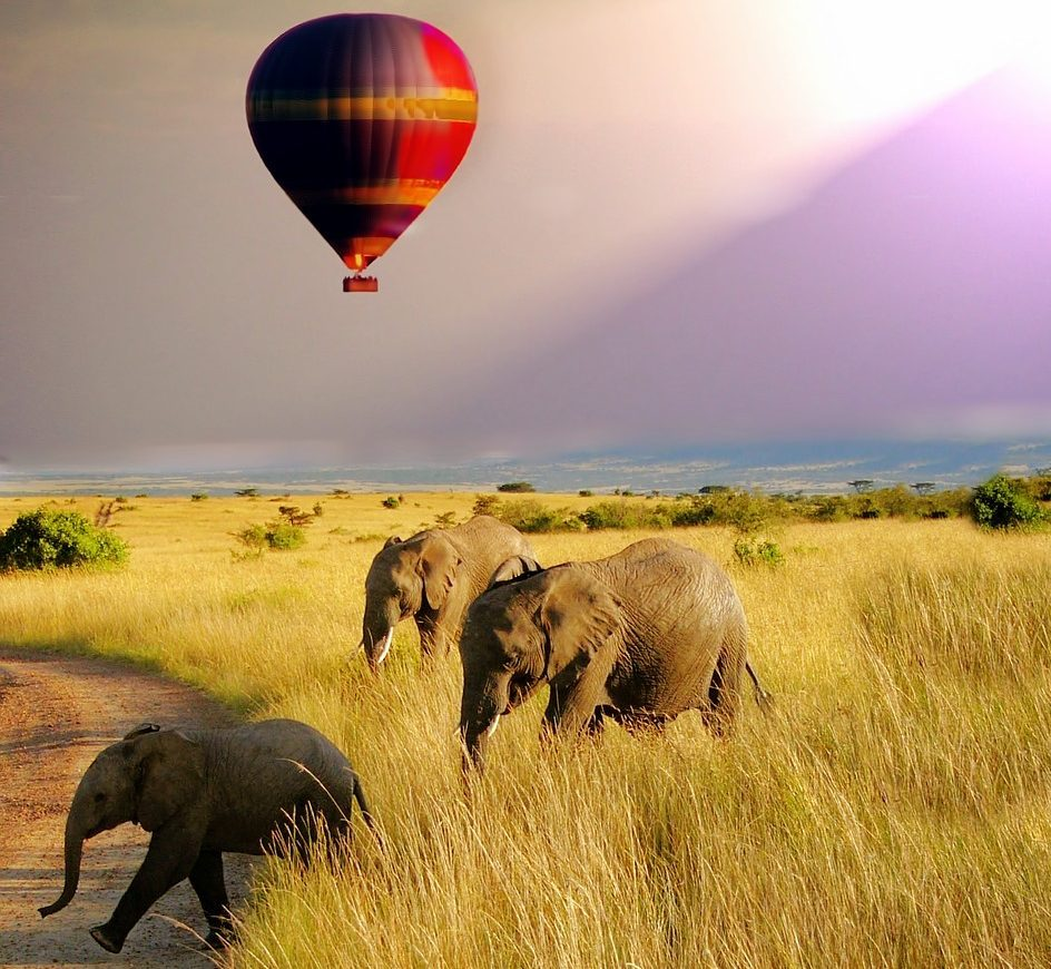 best Adventures in Africa hot air ballooning in Kenya needpix royalty free image