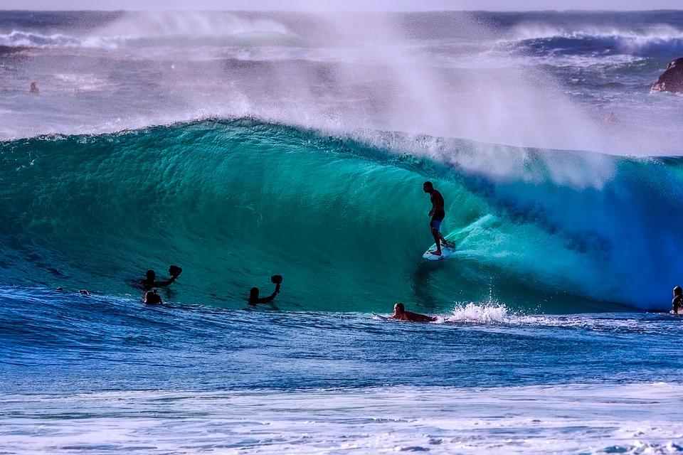 best Australia surfing holiday top 11 surf spots in Oz Pixabay royalty free image