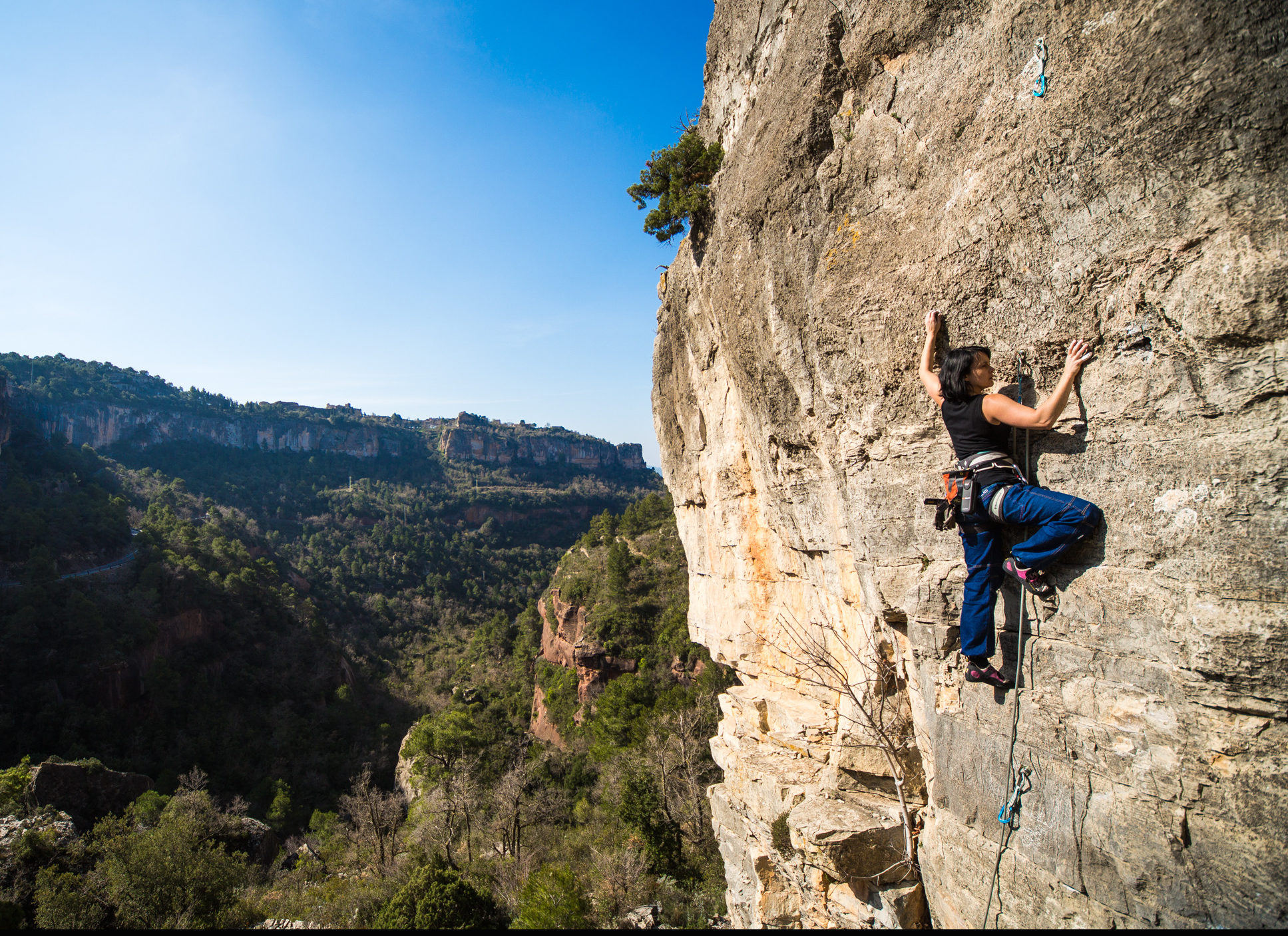 Christmas climbing camp: Spanish rock climbing holiday in Sella