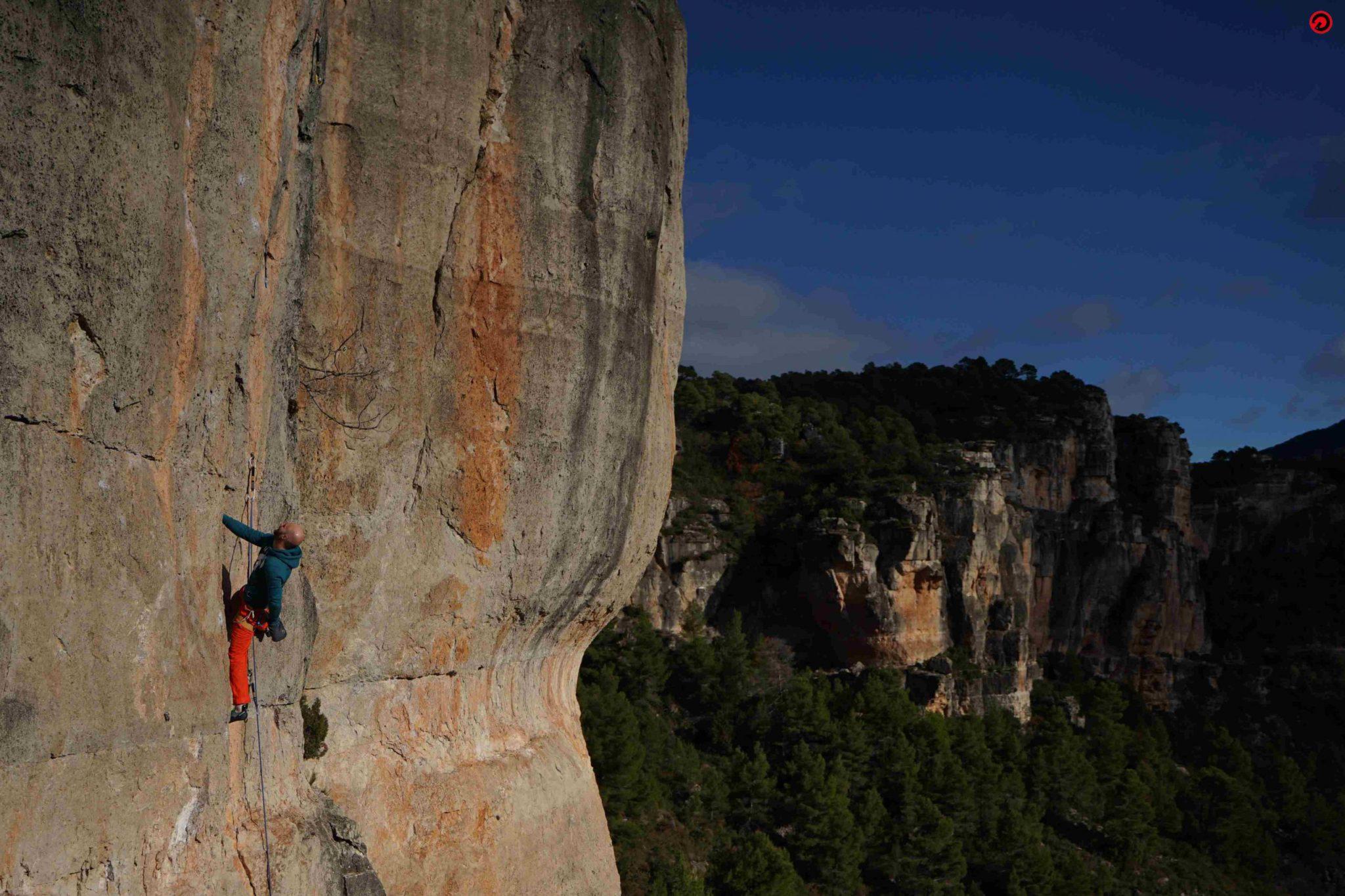 Frankenjura climbing camp in Germany: Klemen Becan coaching