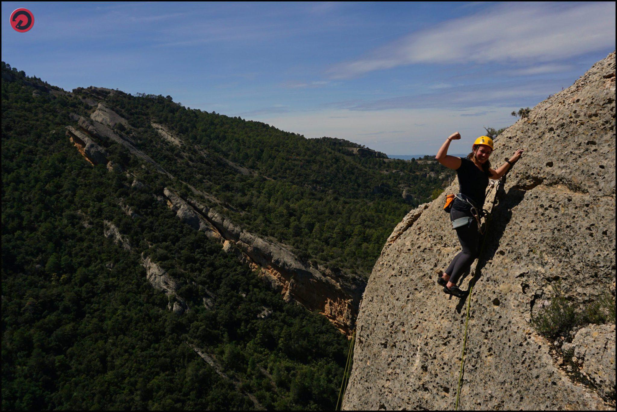 Christmas climbing camp: Spanish rock climbing holiday in Sella