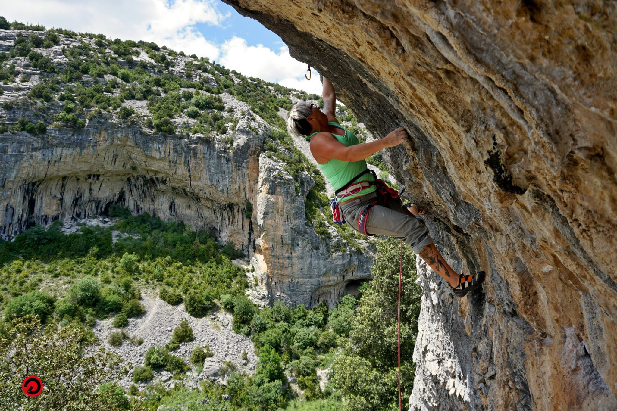 Female only climbing camp in Spain: Siurana rock climbing holiday