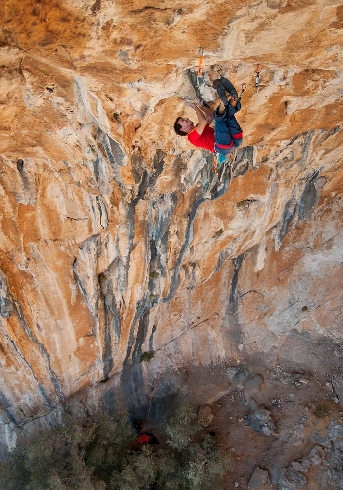 Frankenjura sport climbing technique coaching with Klemen Becan