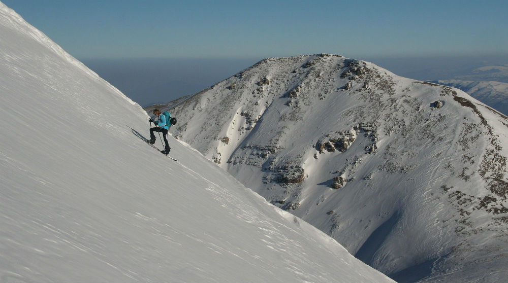 North Macedonia backcountry ski touring: Macedonian skiing trip
