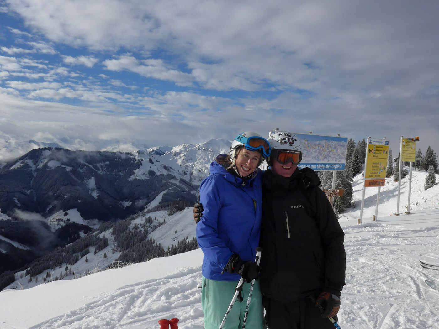 Guided Austria ski safari with coaching in Salzburger Superski