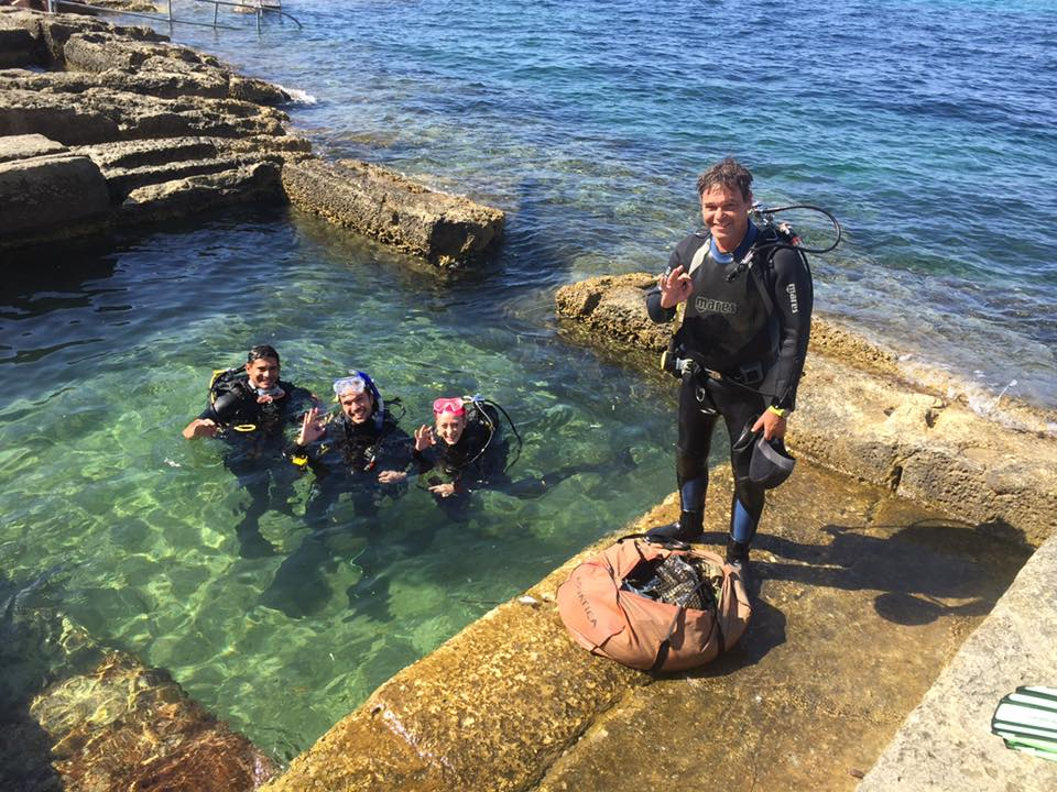 PADI Discover Scuba Diving experience in Malta: Two dives!