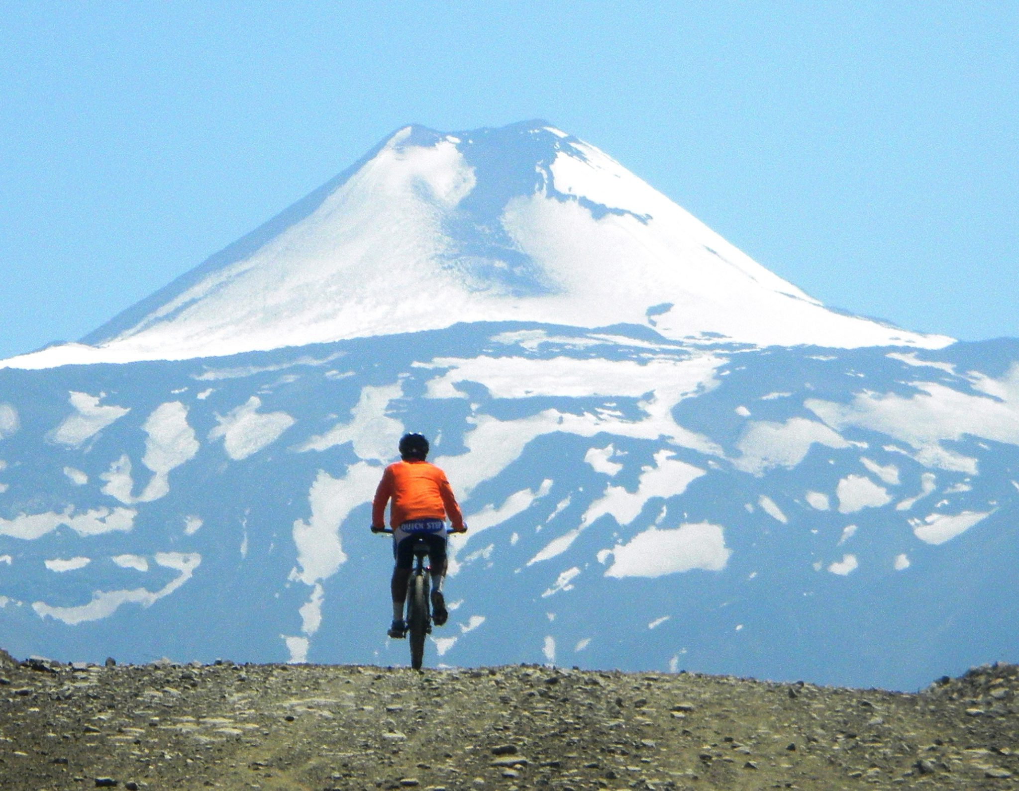 1 week mountain bike tour across the Andes