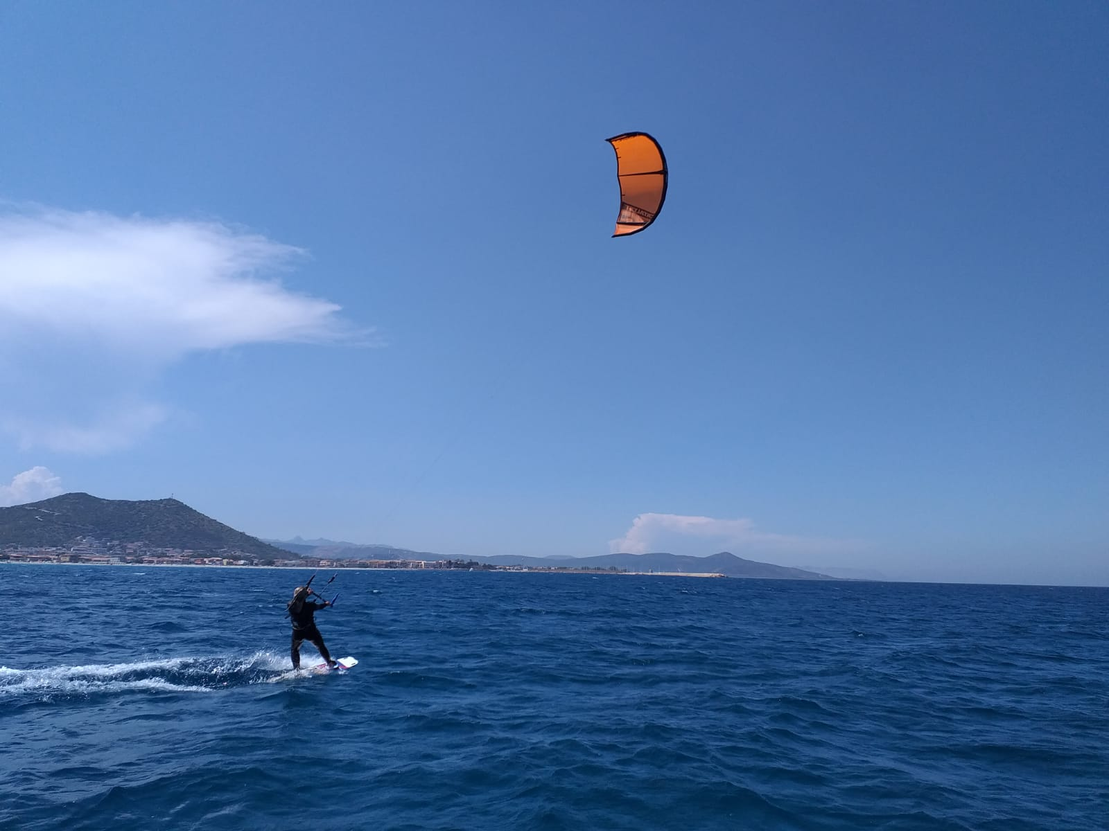 La Caletta kitesurf course: Sardinia beginner kitesurfing lessons