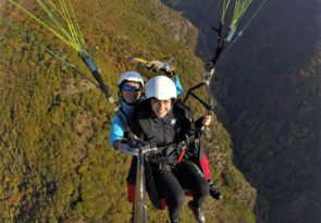 Paragliding Tandem Panoramic flight in Bulgaria