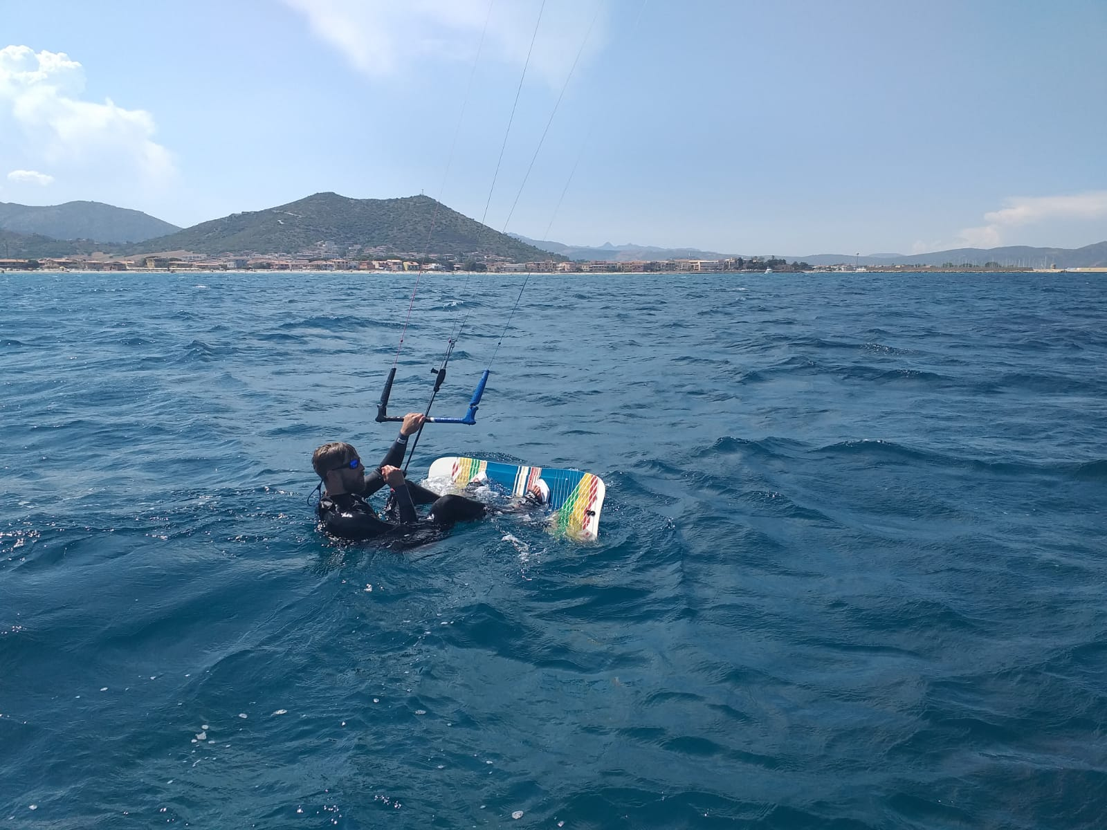 Progression kitesurf course in Castelldefels, Barcelona, Spain
