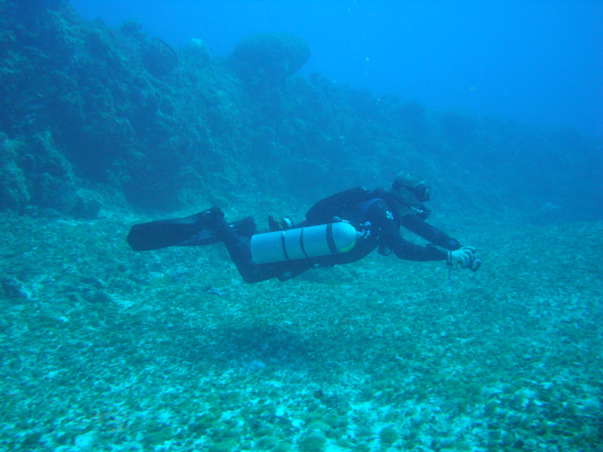 Mexico scuba diving: Open water sidemount course Playa del Carmen