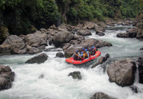 Grade 5 New Zealand White Water Rafting Trip