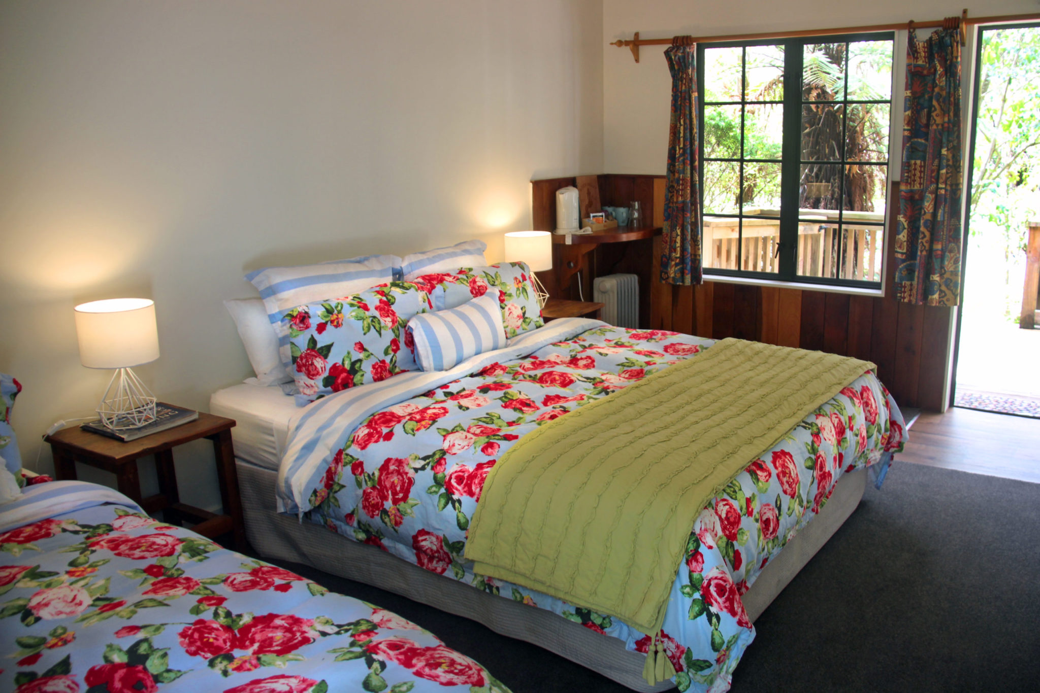 New Zealand Adventure Lodge on Rangitikei River: Deluxe room