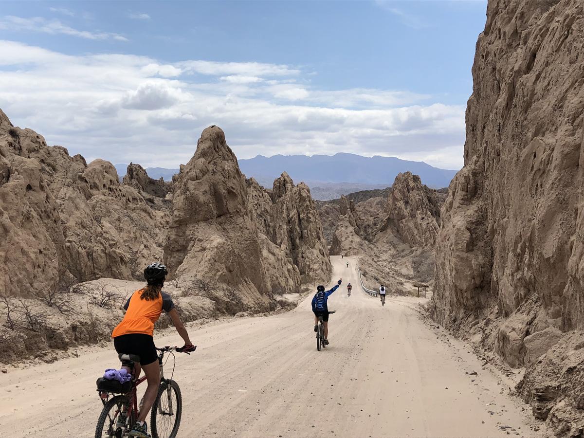 MTB tour through Calchaquies Valleys, Northwest Argentina